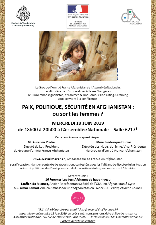 Affiche Conférence Afghanistan ASSEMBLEE NATIONALE 2019 French.png